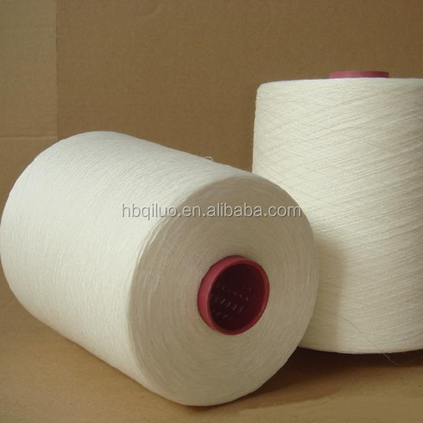 Natural Fibre Blended 55% Hemp 45% Organic Cotton Camouflage Knitting Contamination Free Cotton Yarn for Summer Clothes