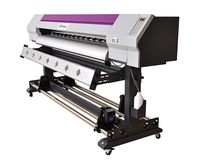 Digital outdoor eco-solvent flex banner printer with 1440dpi