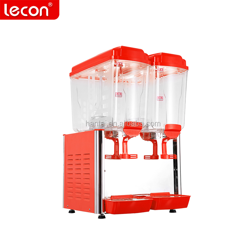 CE Commercial 36L 2 Tank Beverage Fruit Juice Dispenser Juice Dispenser Price