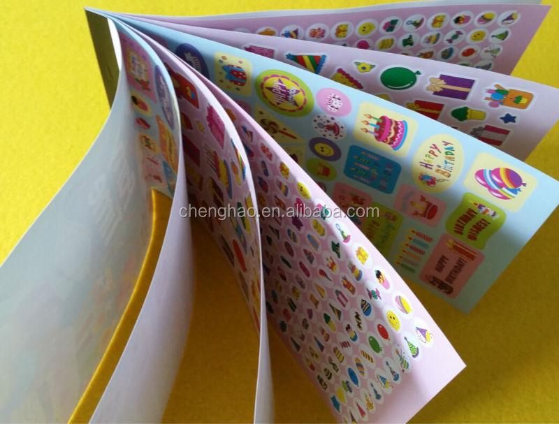 promotional mini size sticker books small gifts for kids