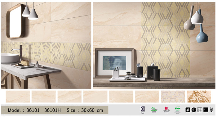 Interior living rooms and bethroom wall tile design 30x60