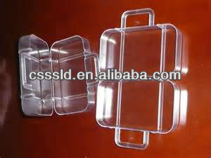 PS Clear Plastic Box