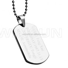 Factory hot sale charming direct sales eco-friendly costumized metal dog tag