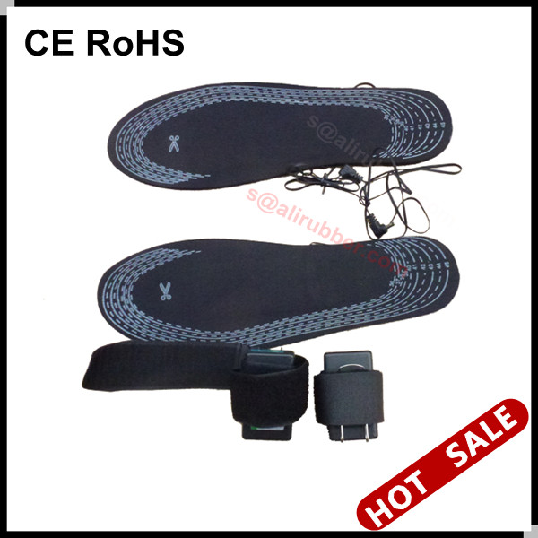 7.4v Rechargeable Battery Operated Foot Warmer Heated Insoles