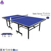 2016 Lenwave removable wood ping pong table tennis table