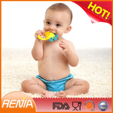 RENJIA new design silicone toy teethers manhattan teether safe teethers