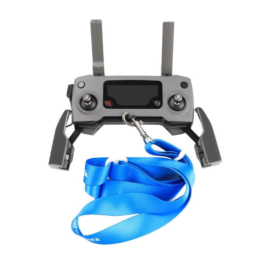 Goodtrade81 Blue Remote Controller Lanyard Neck Strap Sling Belt Clasp Adjustable for DJI Mavic 2, Adjustable 5.7-23.6 inch Length