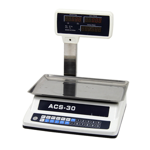 popular type simple design electronic digital weighing red led the cheapest selling vegetable scale made in China TS-811