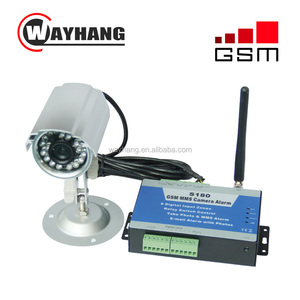 GSM MMS Camera Alarm Controller External Weather-proof Camera Home Intrusion Security And Surveillance Alarm