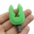 Green Silicone Fishing Rod Holder Telescopic Fishing Rod Support Stand Head Carp Fishing Accessories