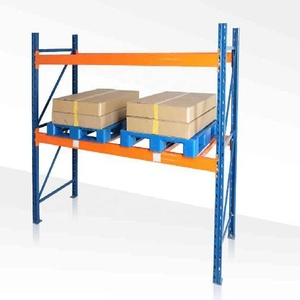 Industrial Metal Galvanized Cold Storage Heavy Duty Pallet Rack System