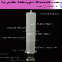 medical consumable without needles large glass syringe