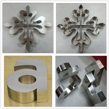 Galvanized Sheet Letters Stainless Steel Channel Letter Signs ...