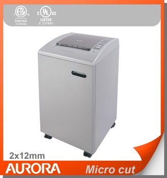 Aurora As1540cd Plastic Paper Shredder 15 Sheet A4 Micro Cut 2x12mm Heavy