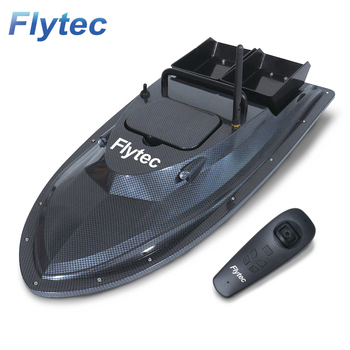 Flytec V007 Fishing Bait Boat Fish Finder With Yaw Automatic Correction Positioning Of 2011-5 Updated Version Toy Boat