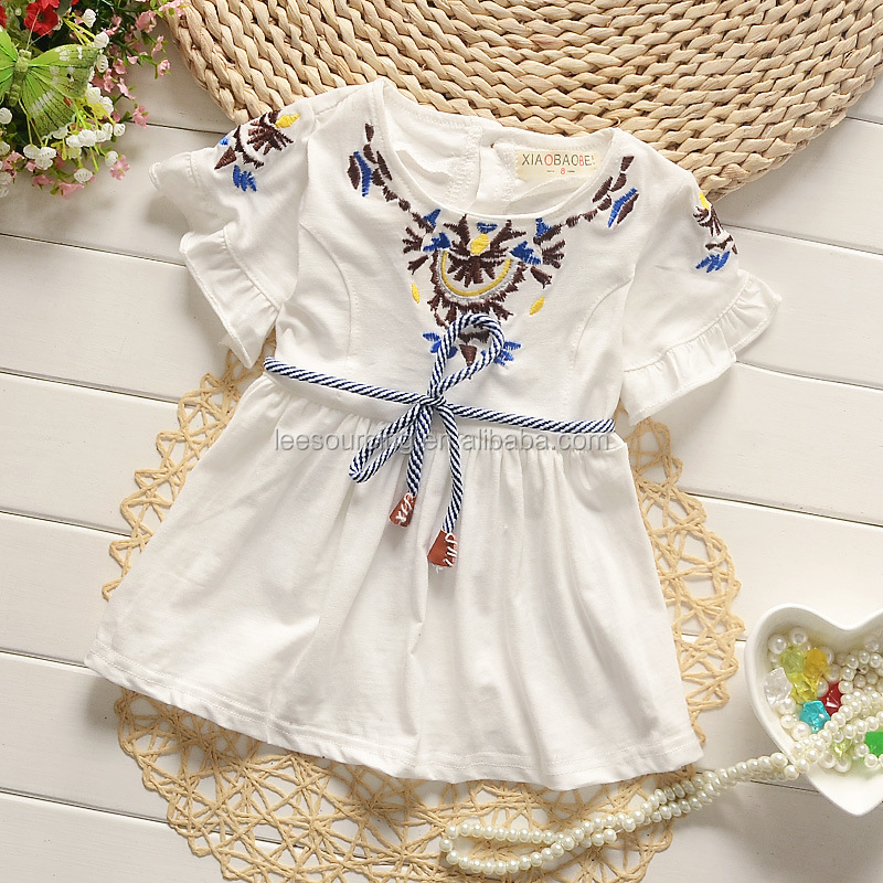 79276b48ceaa Fashion Design Baby Child Dress White Smocked Bishop Dress Girls ...