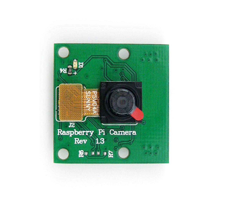 CQRobot Fixed-Focus Raspberry Pi Camera Module, RPi Camera (C), 5 Megapixel OV5647 Sensor, 2592 x 1944 Still Picture Resolution, Dimension: 25mm x 24mm x 9mm