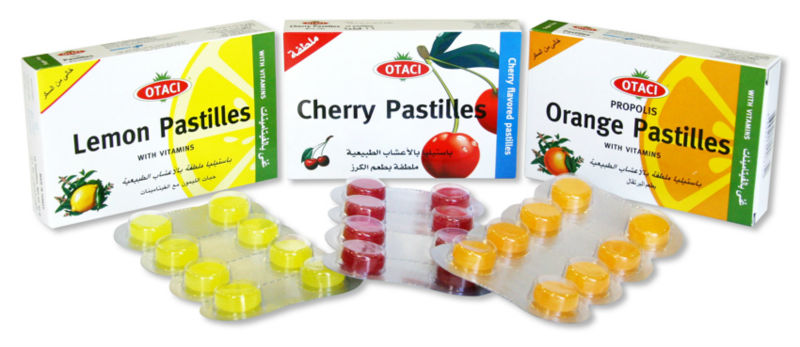 Fruity Throat Lozenges
