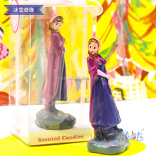 Anna and Elsa Fashion Wax Candles for Birthday Party