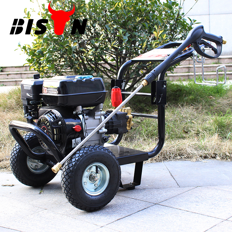 BISON(CHINA) BS-180A 2600PSI Garden Tools Gasoline Car Washing Machines Power Electric Pressure Washer