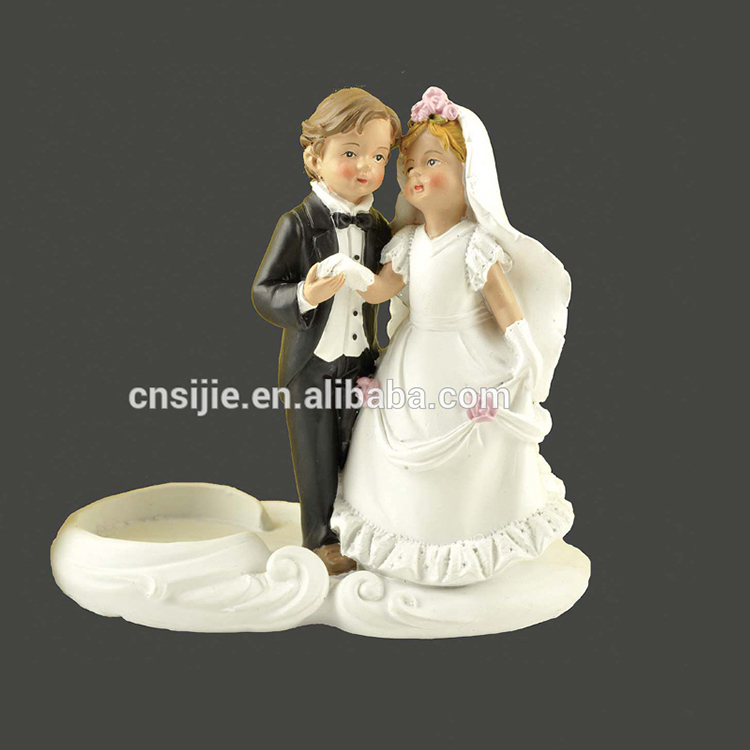Polyresin Artificial Wedding Decoration Anniversary Gift Ideas With Led Light