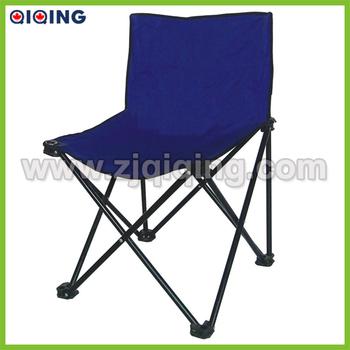 Metal Armless Folding Chairs Portable Fishing Chair Hq
