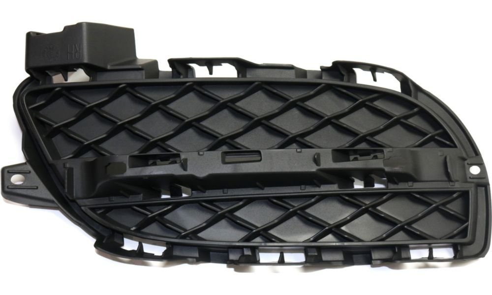 Evan-Fischer EVA177051816134 Bumper Grille for 2014-2015 Jaguar XJR Plastic Primed Right Side Replaces Partslink# JA1039102
