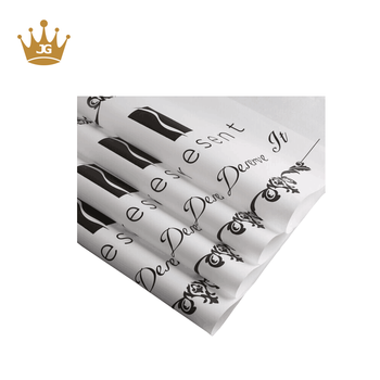Custom tissue paper gold logo printed tissue paper wrapping paper