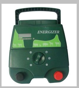 DC 12V 2J portable solar power electric fence energizer for farm fencing equipments