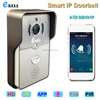 ATZ Smart WiFi Doorbell HD 1 Mega Pixels Camera Lens 2.1mm Wide View Angle Can Open Door By Cell Phone Wireless Video Intercom