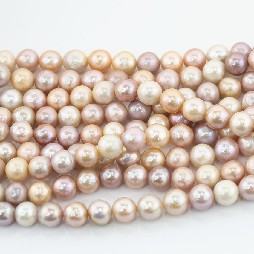 Well-Educated Natural Freshwater Cultured Pearl Beads For Jewelry Making 7-8mm 15inches Diy Jewellery Freeshipping Wholesale Gem-inside Jewelry & Accessories