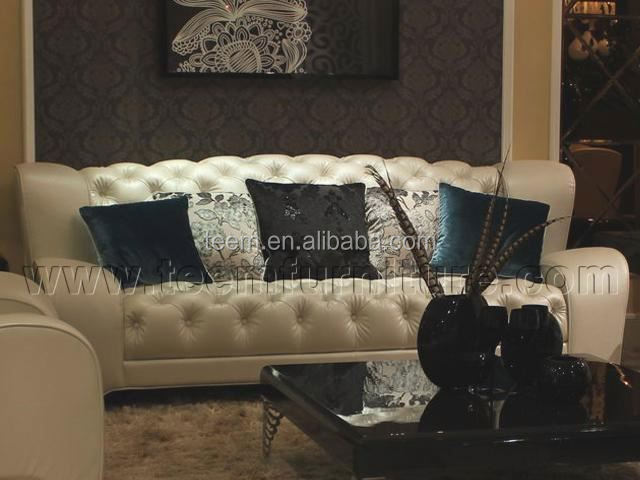 Divany Furniture living room furniture (LS-117B) SOFA villa residence nefertiti furniture