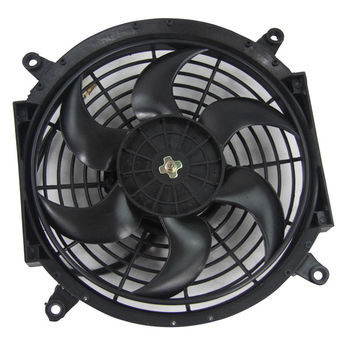Factory Direct 12v 16 Inch Slim Thin Push Pull Auto Radiator Cooling Electric Fan