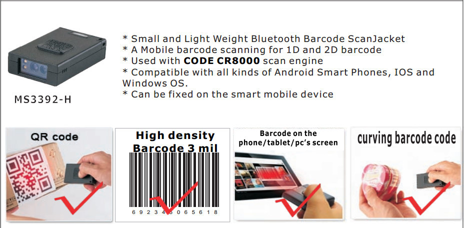Passport Reader Ms3392 Qr Code Scanner Usb For Android App Ios Win10 - Buy  Passport Reader,Qr Code Scanner Usb,Qr Code Scanner Product on Alibaba com