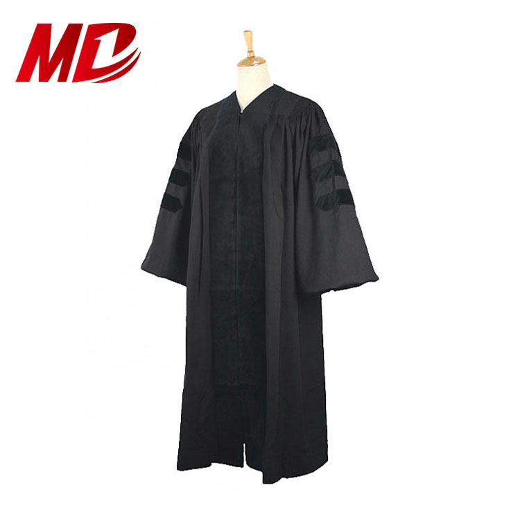 100% Matt Satin or Matt Polyester USA Foreign style church Doctoral Clergy Robes