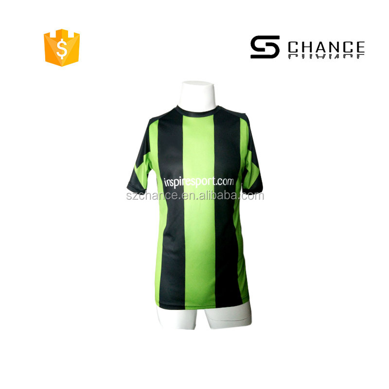 Promotional China factory football shirt maker soccer jersey