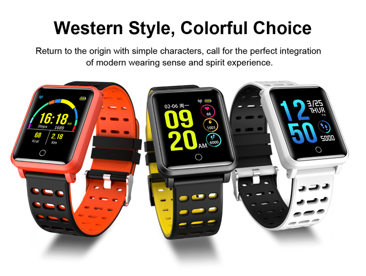 Hot Sell Large Standby Time Sports Wearfit Smart Watch,With Ip68 Waterproof  Sleep Monitor Hr Monitor - Buy Smart Watch With Hr Monitor,Sports
