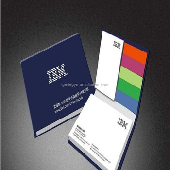 Promotionele sticky notes/kleverige blocnote/memo pad