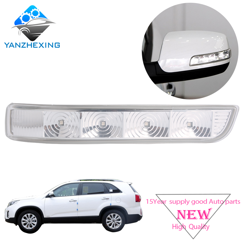 Aftermarket Rearview Rear View Side Mirror Turn Signal LED Light Repeater For KIA Sorento 2009 2010 2011 2012 2013 2014
