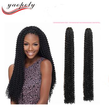 24 Zizi Curl Braid Hair Best Synthetic Crochet Twist Braiding Hair