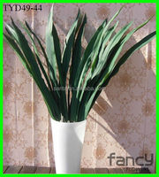 long stem artificial orchid leaf real touch for flower arrangements