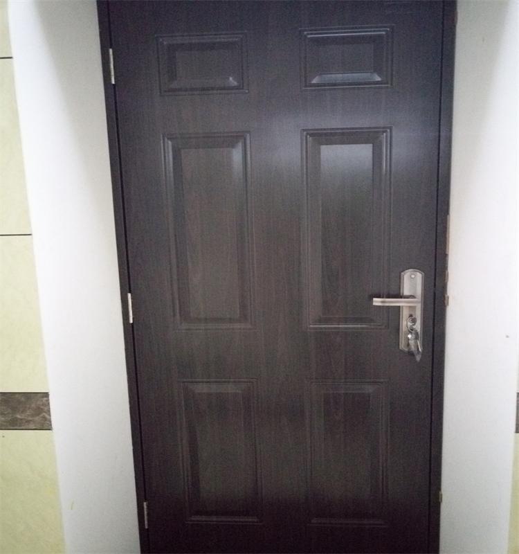 Super Porta de aço do painel com borda de madeira chapa de aço  TL86