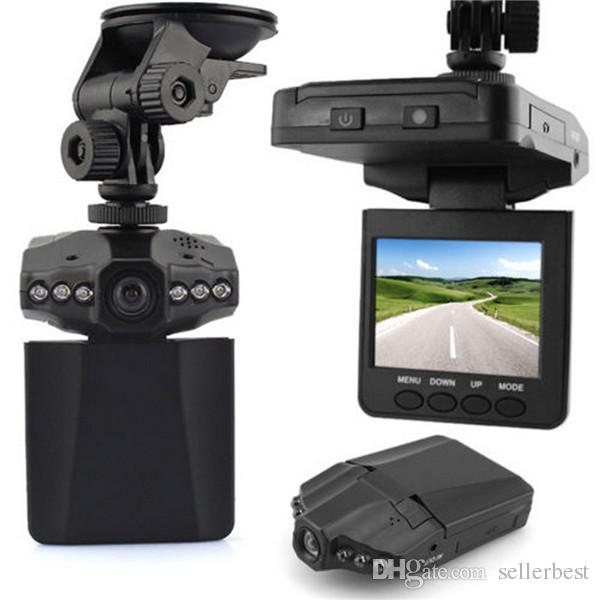 "6 LED 2.5 ""Full HD 1080 P LCD Carro DVR Veículo Camera Video Recorder Traço Cam Night Vision Recorder"