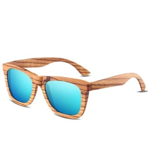HDCRAFTER 2018 Retro Sunglasses Natural Material Glasses Men Women Wood Polarized Sunglasses