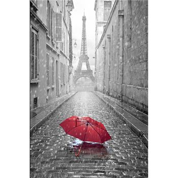 Paris Eifel tower printing on canvas ,stretched and framed wall art work ,wholesale canvas painting for any room home decor