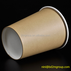 factory supply directly brown colour paper coffee cups