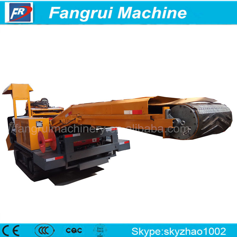 Earth-moving Machinery B877 backhoe loader