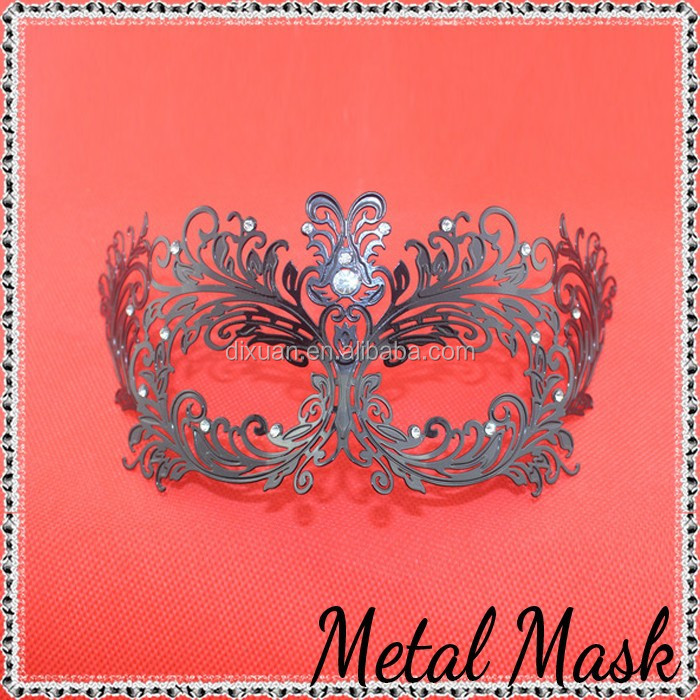 Venice Black Iron Masks Adult Sex mask