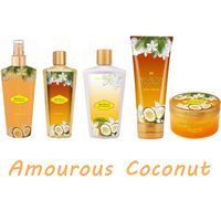 Dear Body brand Coconut perfumed bath and skin care products set include body wash/body lotion/fragrance mist for women