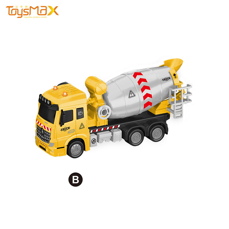 1:46 Scale 2019 New Europe Style Popular Pull Back Alloy Engineering Truck Toys Battery operated Die Cast Model Truck